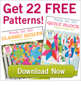 Get 22 free patterns from AccuQuilt!