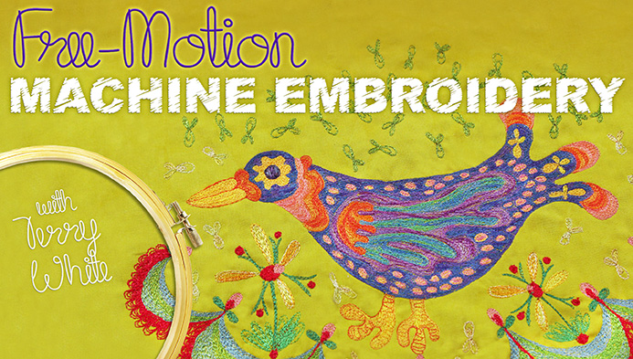 Free-Motion Machine Embroidery on Craftsy