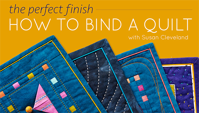 How to Bind a Quilt on Craftsy