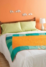 Cool Waves Lap Quilt