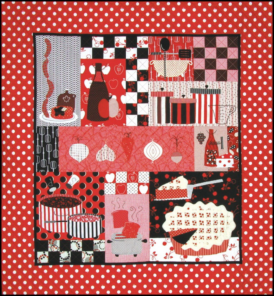 In the Kitchen quilt