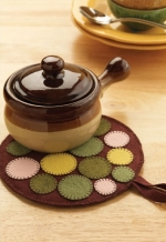 Stepping Stones Pot Holder
