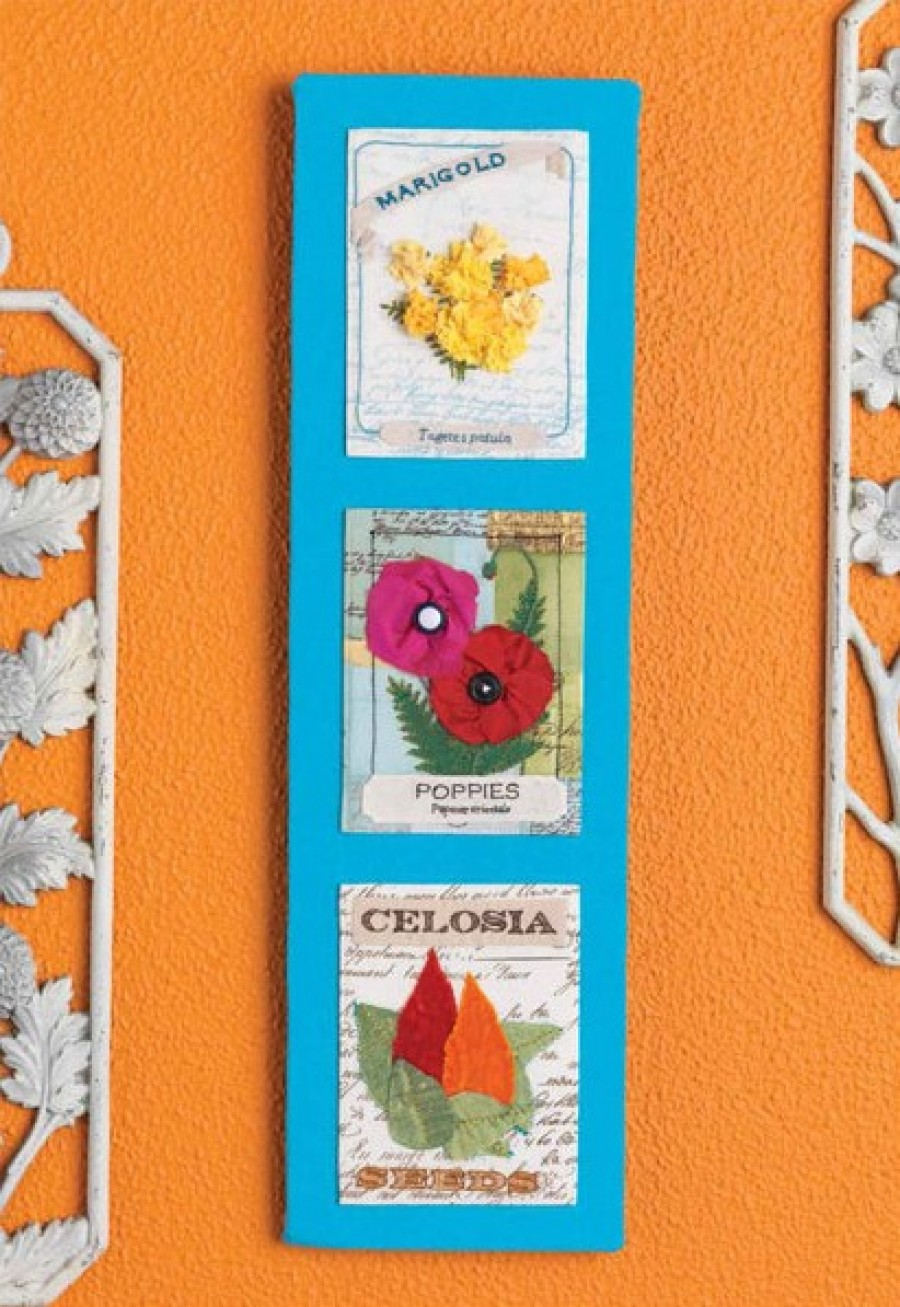 Vintage Seed Packet Wall Art