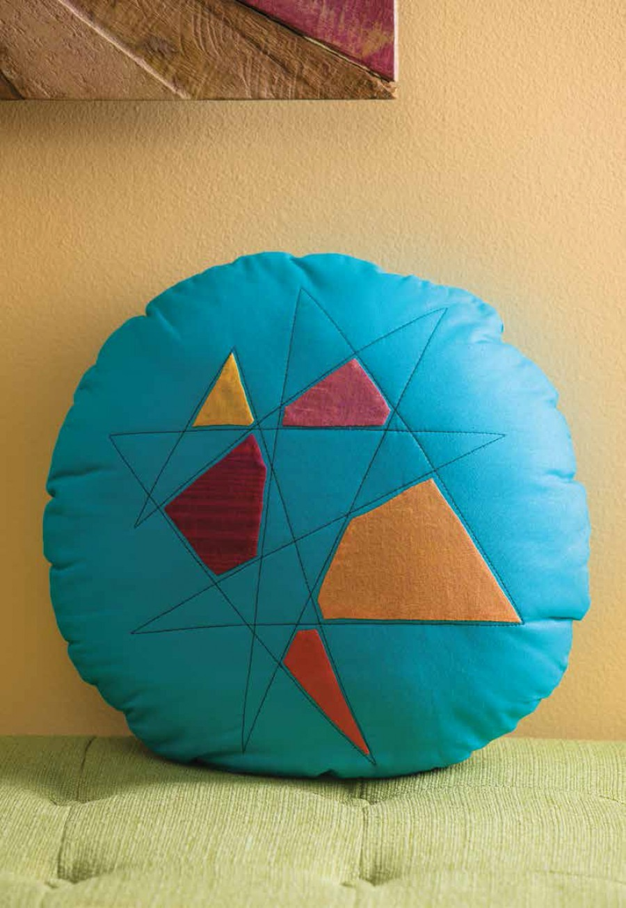 Starburst Shards Pillow