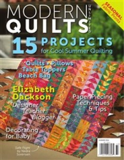 Modern Quilts Unlimited, Summer 2014