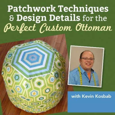 Put Up Your Feet! Create a Customized Ottoman with Stripes, Patchwork and More webinar download