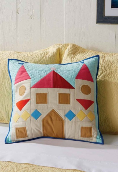 Sandcastle Pillow Cover