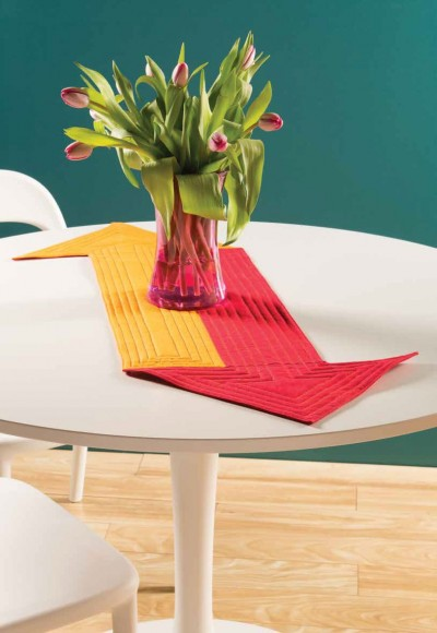 Supergraphic Table Runner
